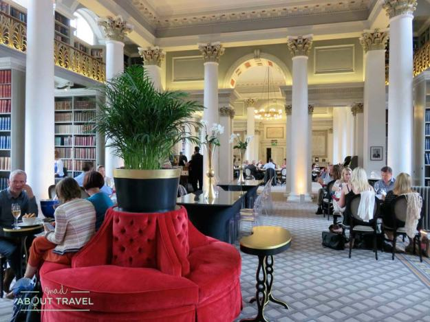 The Colonnades en la Signet Library de Edimburgo