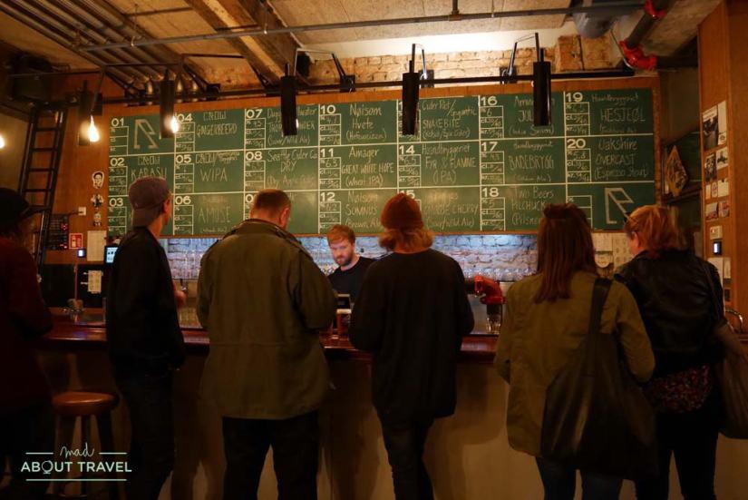 Cervecería The Crow en Oslo