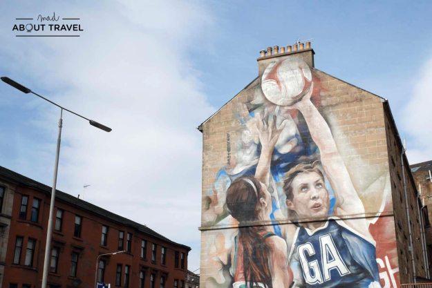 ruta de arte urbano Glasgow
