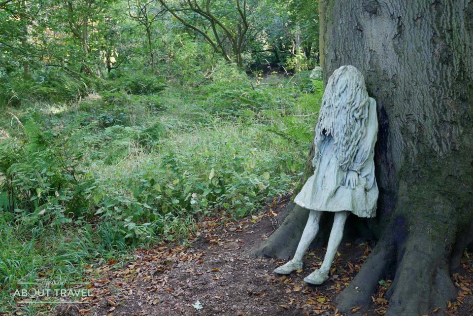 Weeping Girls en Jupiter Artland
