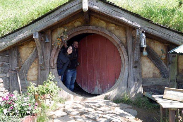En Hobbiton con Antonio