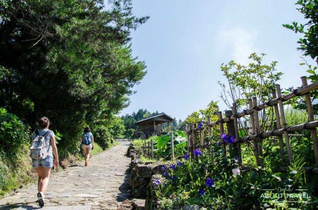Ruta del Nakasendo en Japón