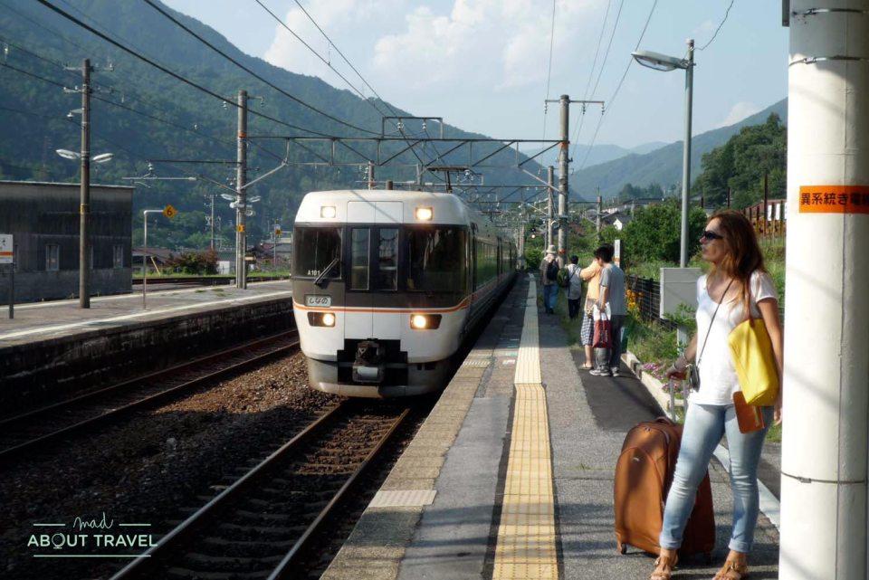 estación de tren de Nagiso