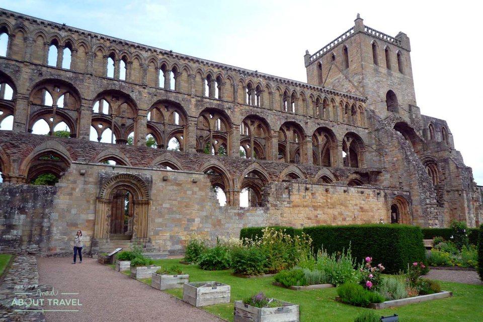 Abadía de Jedburgh en Escocia