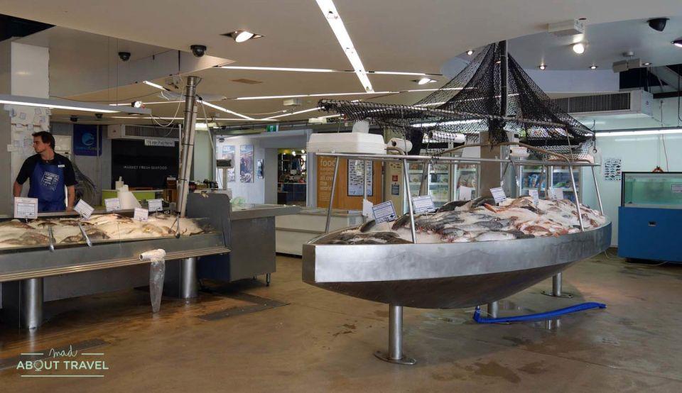 Mercado del pescado de Auckland