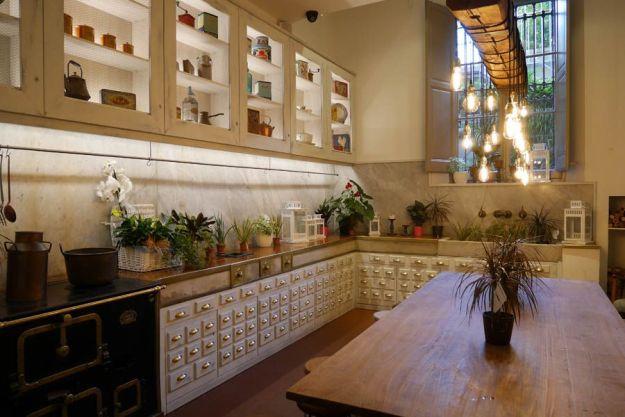 antigua cocina de la casa amatller de barcelona