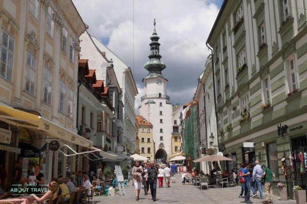 que ver en bratislava - torre de san miguel