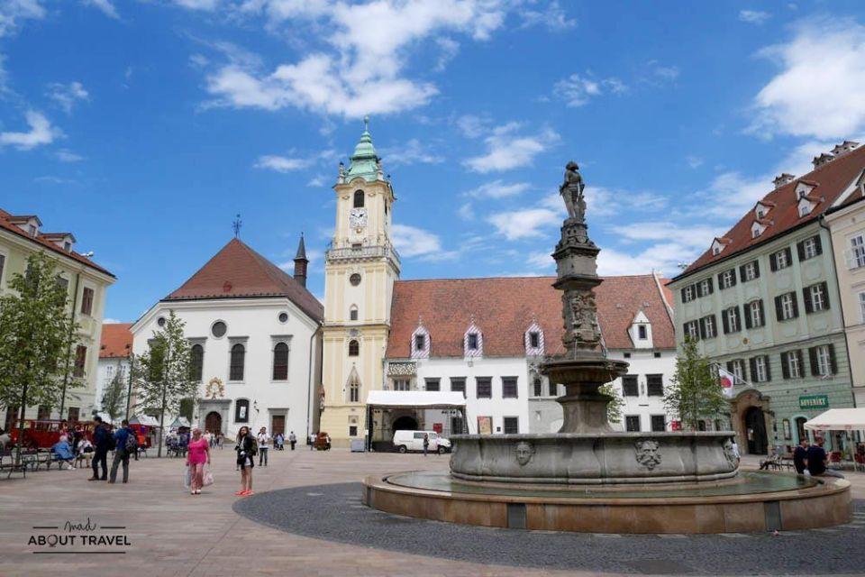 que ver en bratislava - plaza