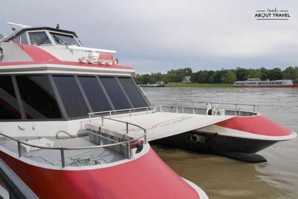 como ir a bratislava desde viena en barco