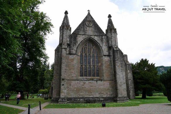 ruta en coche por escocia catedral de dunkeld