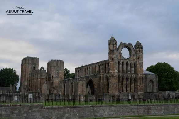 ruta en coche por escocia catedral de elgin
