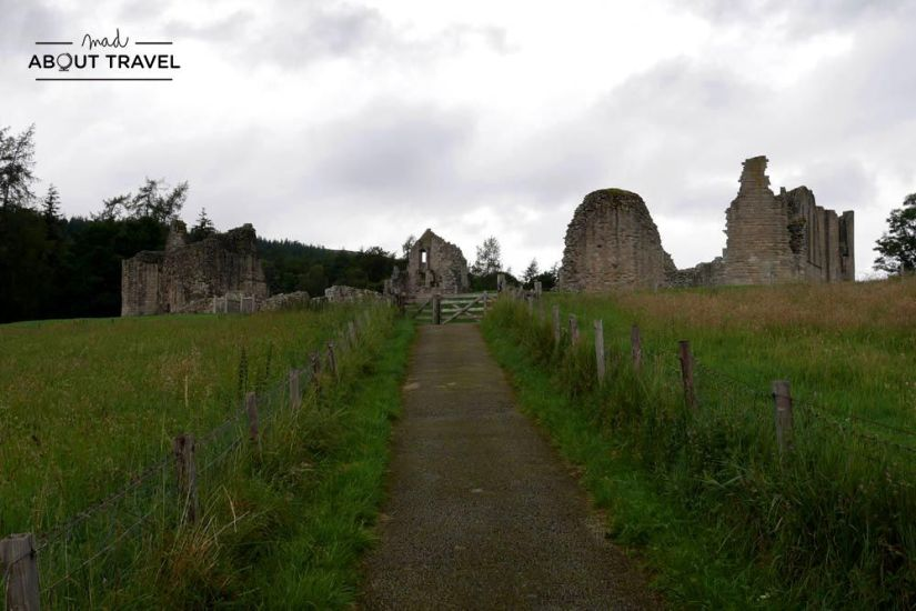 ruta en coche por escocia - castillo de kildrummy