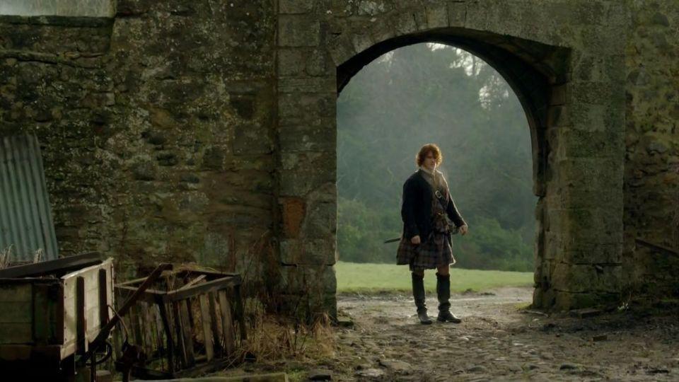 Escenarios de Outlander en Escocia - Midhope Castle - Lallybroch