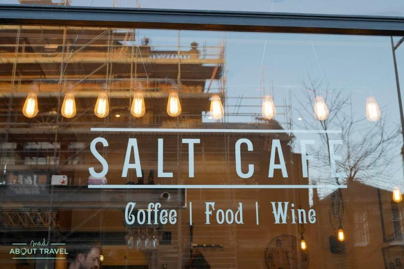 restaurante salt cafe en morningside edimburgo