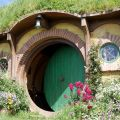 casa de bilbo y frodo bolsón cerrado en hobbiton