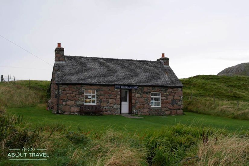 isla de iona en escocia