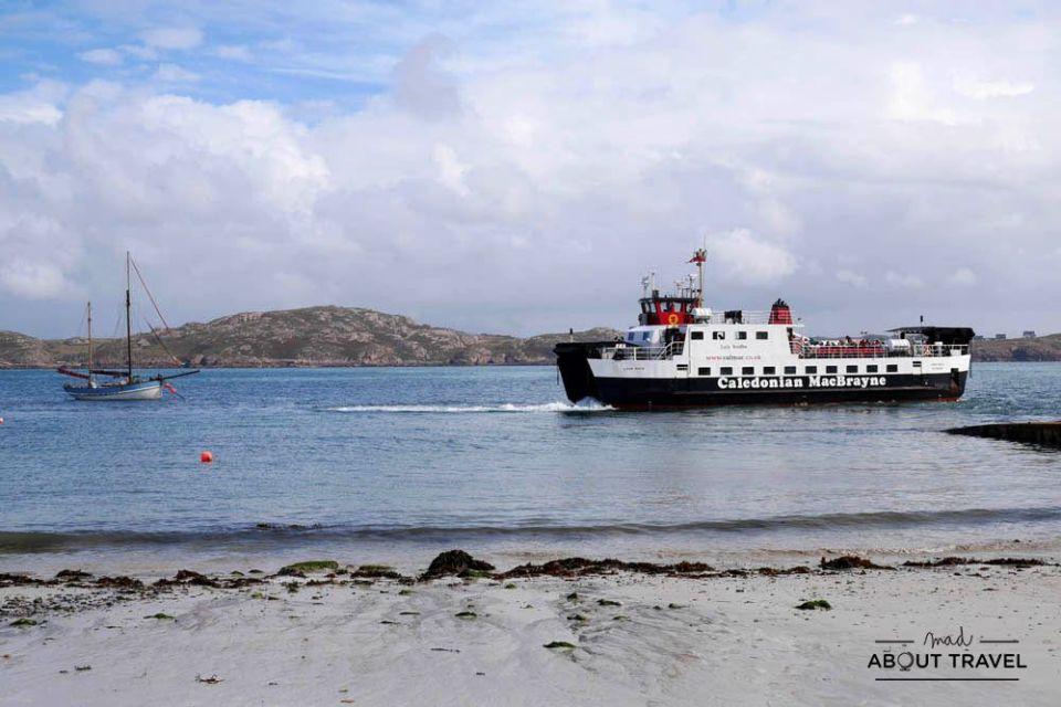 vistas de la isla de iona en escocia