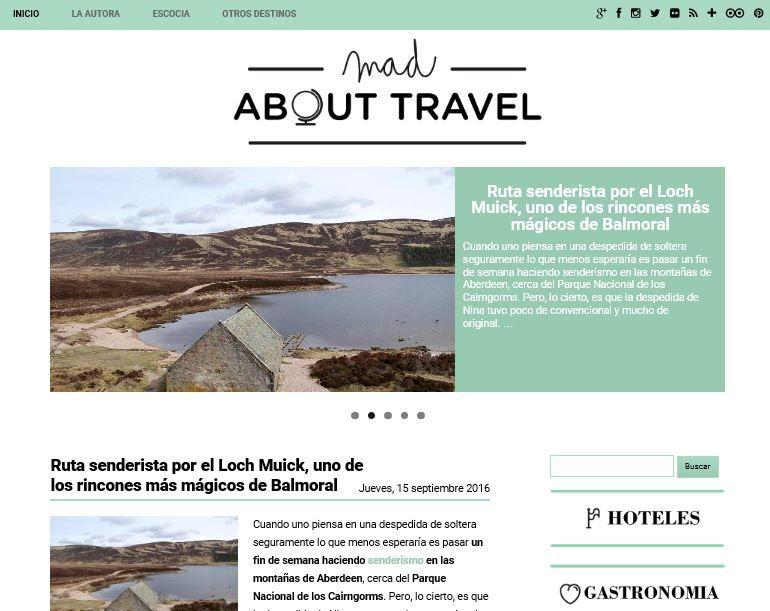 Mad about travel blog de viajes sobre escocia