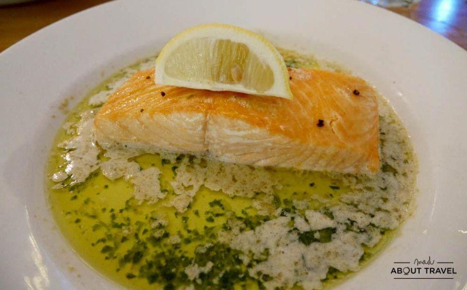 donde comer en la isla de mull - cafe fish, tobermory