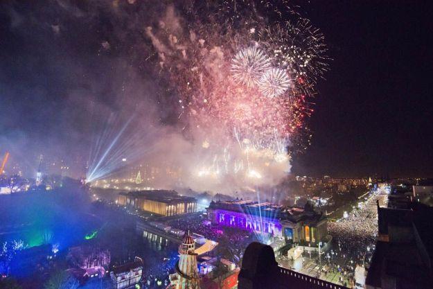 fuegos artificiales edimburgo hogmanay - foto de Chris Watt / Edinburgh Hogmanay