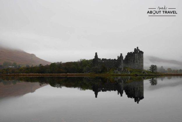 castillo de kilchurn escocia