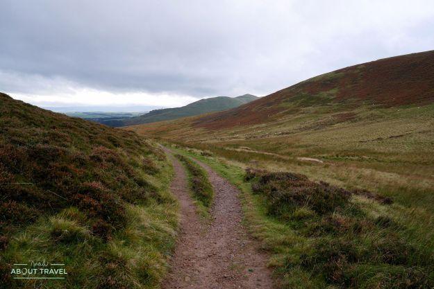 senderismo en los pentlands escocia