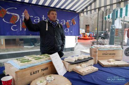 Scottish Food Market en el Winter Festival de Perth