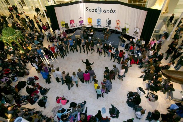 Scot:Lands en el fin de año en edimburgo