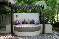 island villa en el resort Coco Bodu Hithi de Maldivas