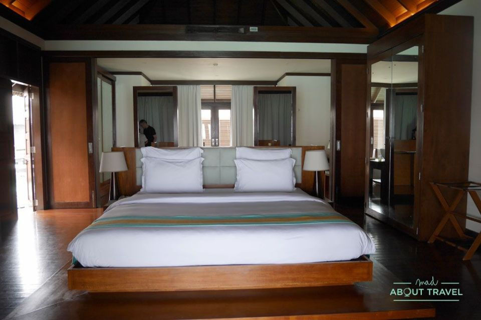 water villas del resort Coco Bodu Hithi en Maldivas