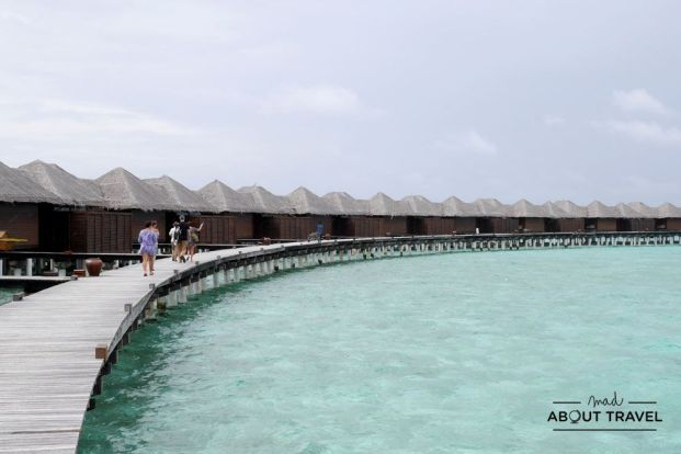 water villas del resort Coco Bodu Hithi en Maldivas