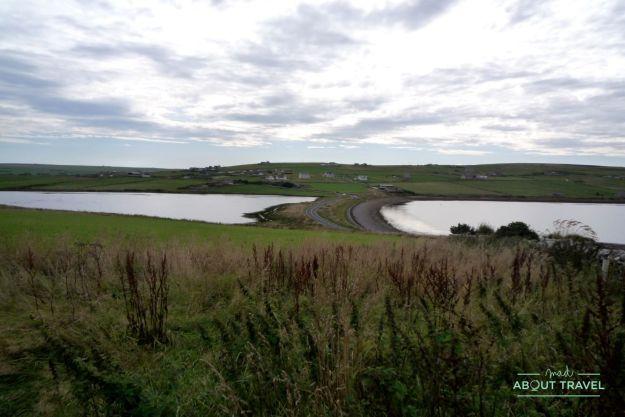 ruta por las islas órcadas: las barreras de churchill