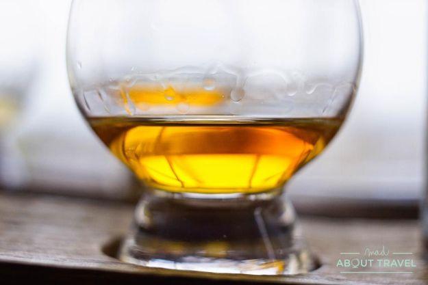 cata de whisky en la Scotch Whisky Experience en Edimburgo