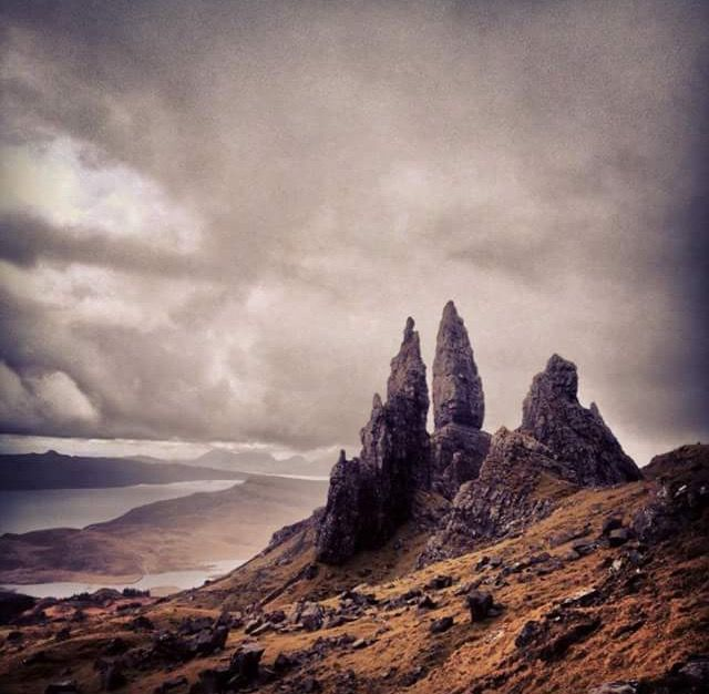 que ver en escocia old man of storr