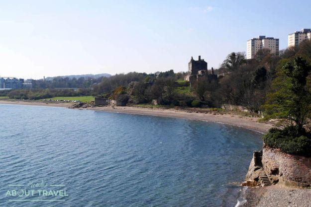 senderismo en escocia fife coastal path castillo de ravenscraig