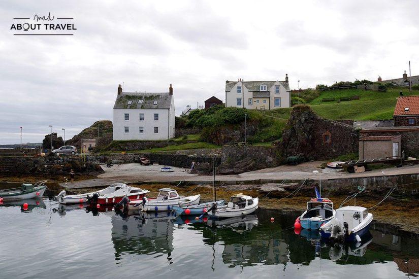 pueblos más bonitos de Escocia: St Abbs