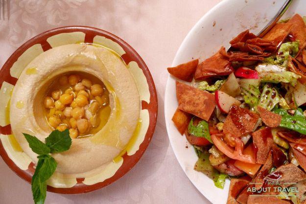 gastronomía jordana