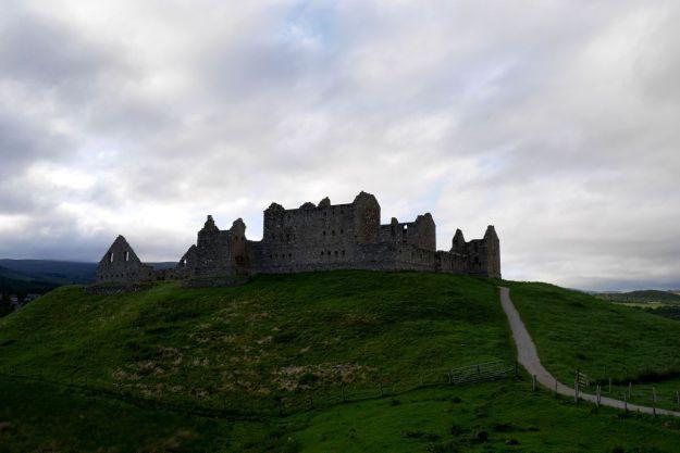 ruta jacobita en escocia - ruthven barracks