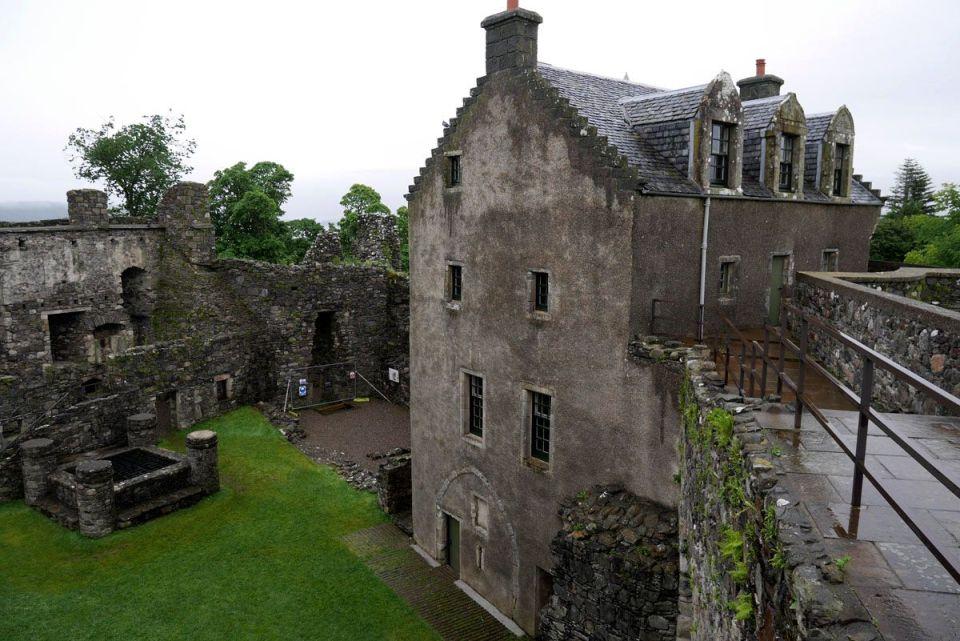 ruta jacobita escocia - castillo de dunstaffnage