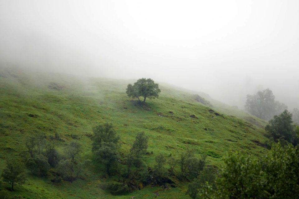 ruta jacobita escocia - valle de glencoe