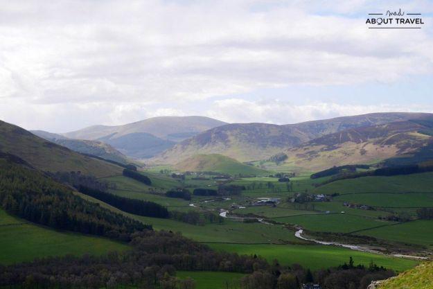 colinas cademuir en peebles, escocia