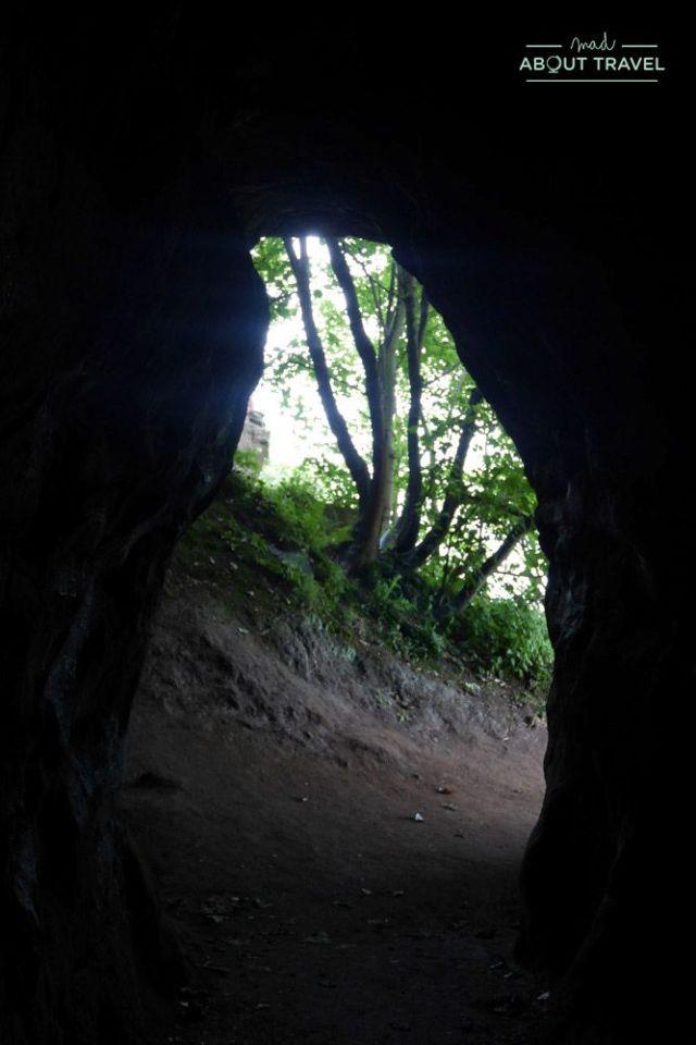 cuevas de wemyss en fife, escocia