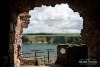 castillo de tantallon escocia
