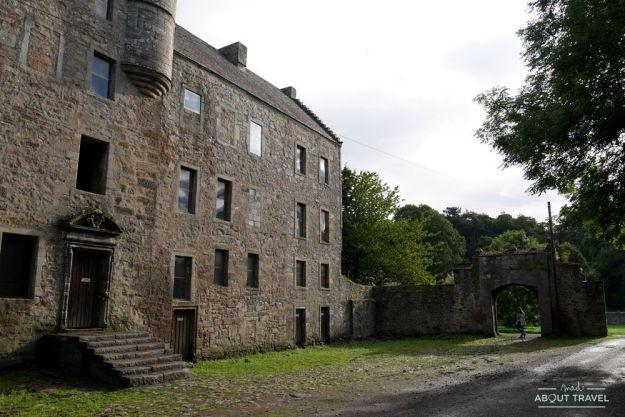 castillo de midhope, lallybroch en Outlander