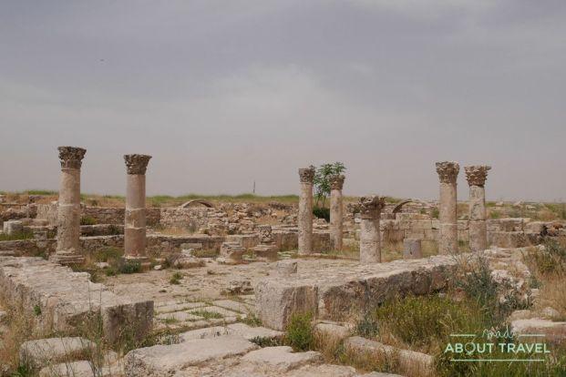 que ver en ammán: ciudadela templo de hércules