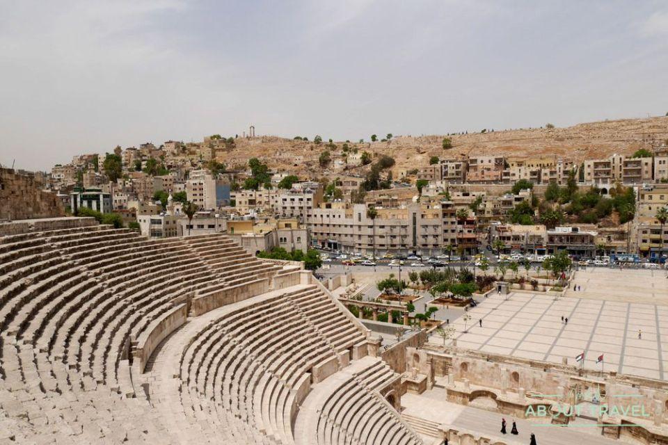 que ver en ammán: teatro romano