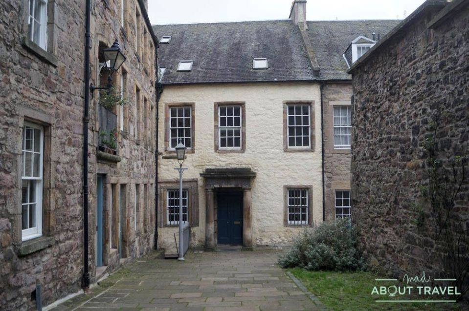 ruta outlander Edimburgo: tweeddale court