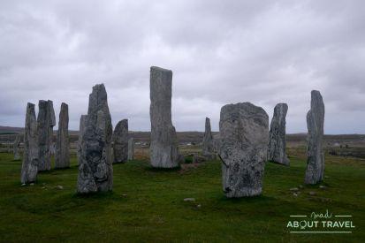 que ver en la isla de lewis: círculo de piedras de callanish