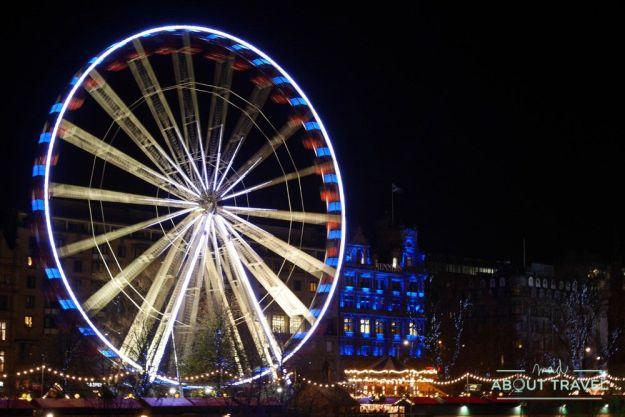 que hacer en Edimburgo en Navidad: atracciones