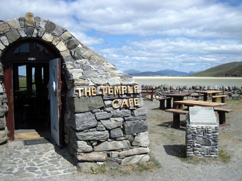 donde comer en la isla de Harris: temple cafe